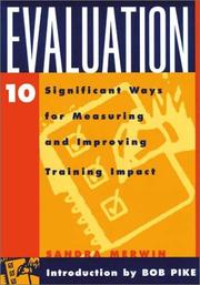 Cover of: Evaluation