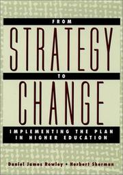 Cover of: From strategy to change by