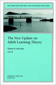 The New Update on Adult Learning Theory
