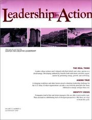 Cover of: Leadership in Action, No. 2, 2001