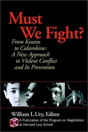 Cover of: Must We Fight?