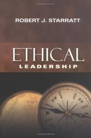Cover of: Ethical leadership
