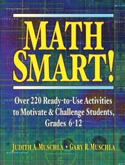 Cover of: Math Smart! | Judith A. Muschla