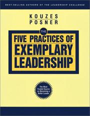 Cover of: The Five Practices of Exemplary Leadership (The Leadership Practices Inventory)