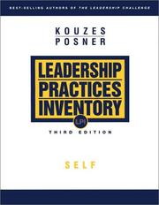 Cover of: The Leadership Practices Inventory (LPI)