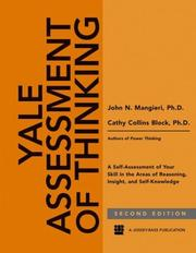 Cover of: Yale Assessment of Thinking | John Mangieri