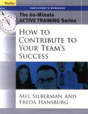 Cover of: The 60-Minute Active Training Series | Melvin L. Silberman