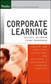 Cover of: Corporate Learning  | Michael Dulworth