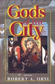 Cover of: Gods of the City | Robert A. Orsi