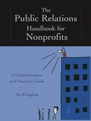 Cover of: The Public Relations Handbook for Nonprofits | Art  Feinglass