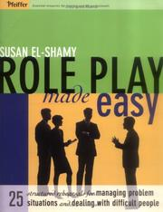 Cover of: Role Play Made Easy | Susan El-Shamy