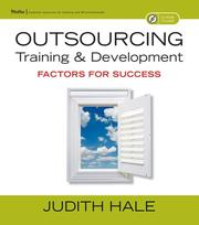 Cover of: Outsourcing training and development