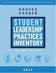 Cover of: The Student Leadership Practices Inventory (LPI), Self Instrument (4 Page Insert) (The Leadership Practices Inventory)