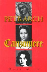 Cover of: Petrarch: selected poems