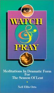 Cover of: Watch and pray