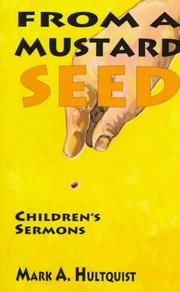 Cover of: From a mustard seed