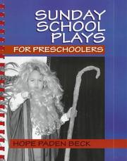 Cover of: Sunday school plays for preschoolers