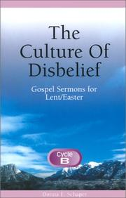 Cover of: The culture of disbelief