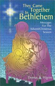Cover of: They Came Together in Bethlehem