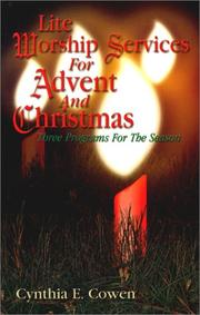 Cover of: Lite Worship Services for Advent and Christmas