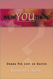 Cover of: Were You There