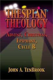 Cover of: Thespian Theology | John A. Tenbrook