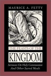 Cover of: The Feasts of the Kingdom
