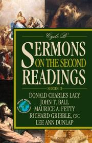 Cover of: Sermons on the second readings