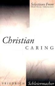 Cover of: Christian caring: Selections from Practical Theology