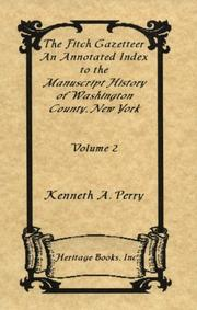 The Fitch Gazetteer by Kenneth A. Perry