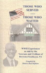 Cover of: Those Who Served, Those Who Waited | Dolores Stephens