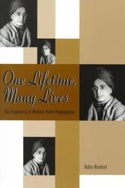 Cover of: One Lifetime, Many Lives | Robin Rinehart
