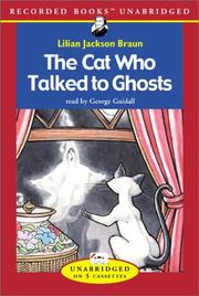 Cover of: The cat who talked to ghosts