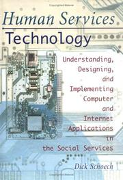 Cover of: Human services technology | Dick Schoech