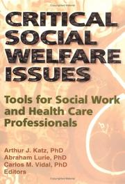 Critical social welfare issues by