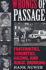 Cover of: Wrongs of Passage