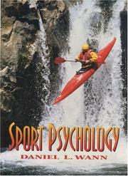 Cover of: Sport psychology
