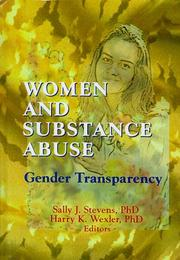 Cover of: Women and Substance Abuse |