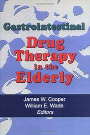 Cover of: Gastrointestinal drug therapy in the elderly |