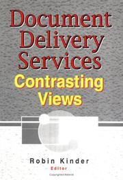 Cover of: Document delivery services