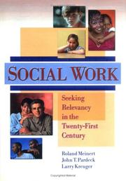 Cover of: Social Work | Roland G. Meinert