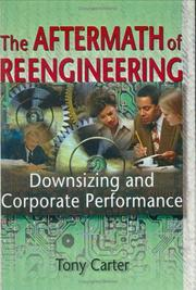 Cover of: The Aftermath of Reengineering