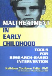 Cover of: Maltreatment in Early Childhood