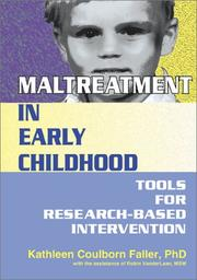 Cover of: Maltreatment in Early Childhood | Kathleen Coulborn Faller