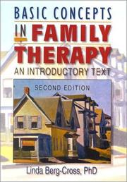 Cover of: Basic concepts in family therapy