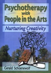 Cover of: Psychotherapy With People in the Arts