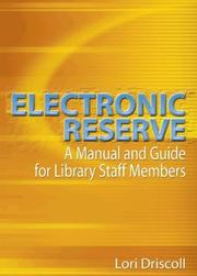 Cover of: Electronic Reserve | Lori Driscoll