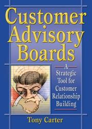 Cover of: Customer Advisory Boards