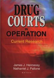 Drug Courts in Operation by