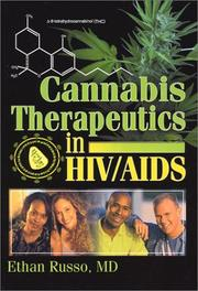 Cover of: Cannabis Therapeutics in HIV/Aids (Journal of Cannabis Therapeutics, V. 1, No. 3/4) (Journal of Cannabis Therapeutics, V. 1, No. 3/4) | Ethan Russo